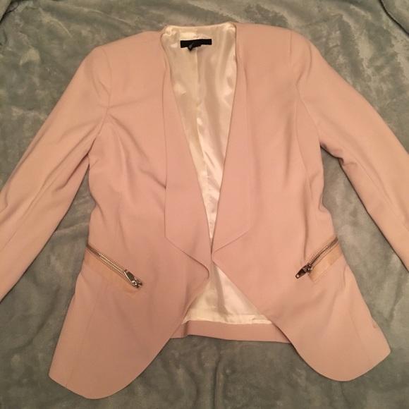 Size 6 blush pink blazer